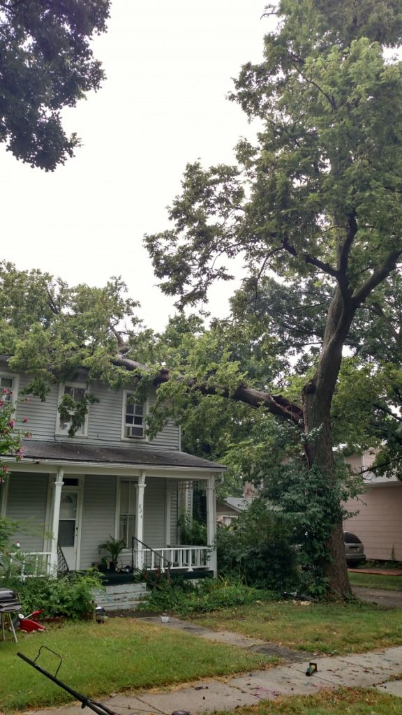 Storm Damage in Emporia Topeka